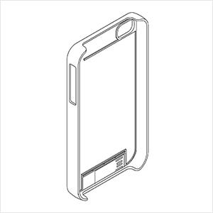 유에스비(USB)가 부착된 휴대폰 케이스 (디자인 특허)?특허도안